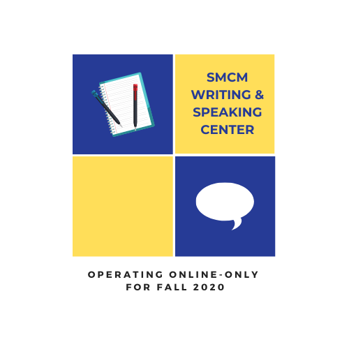 SMCM Writing & Speaking Center Logo